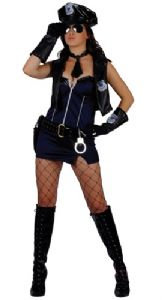 Officer Naughty Cop Costume